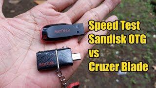 Review Sandisk OTG 32 GB & Sandisk Cruzer Blade