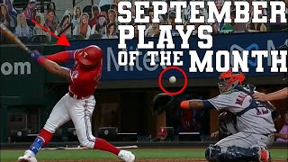 September Top 50 Sports Plays of the Month | Highlights \u0026 Best Moments
