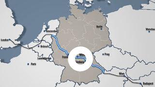 3D Visualisierung der A3 Würzburg - Projektfilm | Stand 03/2015