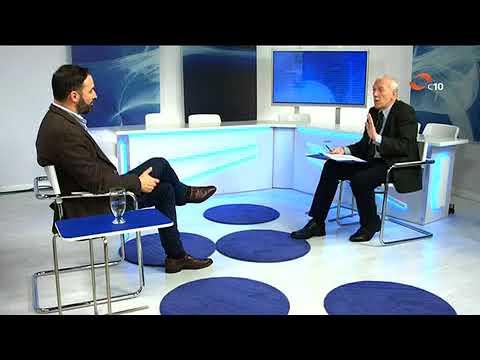 Entrevista a Santiago Abascal en La Lupa de Canal 10 en Asturias el 14 de diciembre
