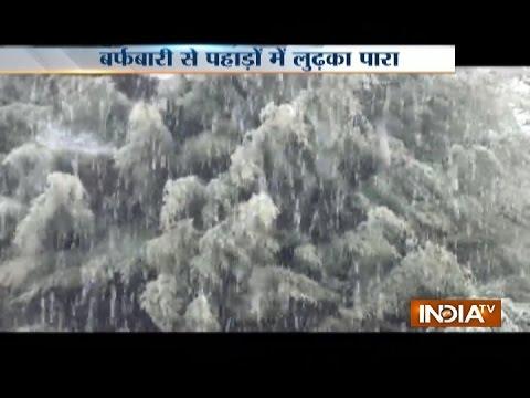 Rain, Light Snow Lashes Jammu and Kashmir, Himachal - India TV