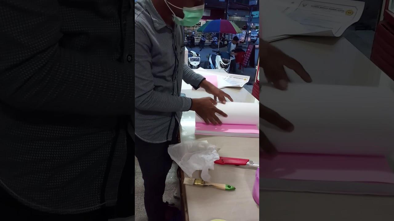 Cara Membuat Cover Semi Lux