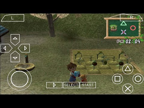 Harvest Moon A Wonderful Life Special Edition PS2 Game On PPSSPP ISO Download