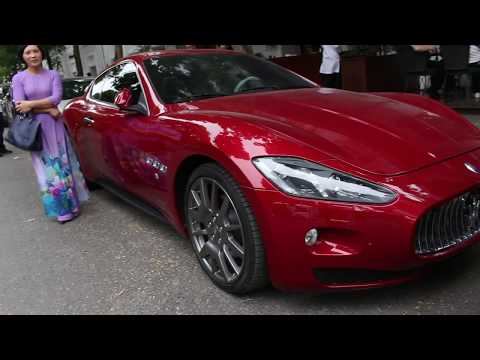 Maserati Granturismo màu đỏ tuyệt đẹp của nữ thiếu gia Hà Thành | Johnny & SuperCar