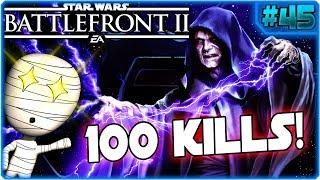 100 Kills! - Star Wars Battlefront 2 #45 - Lets Play Commentary HD deutsch Tombie