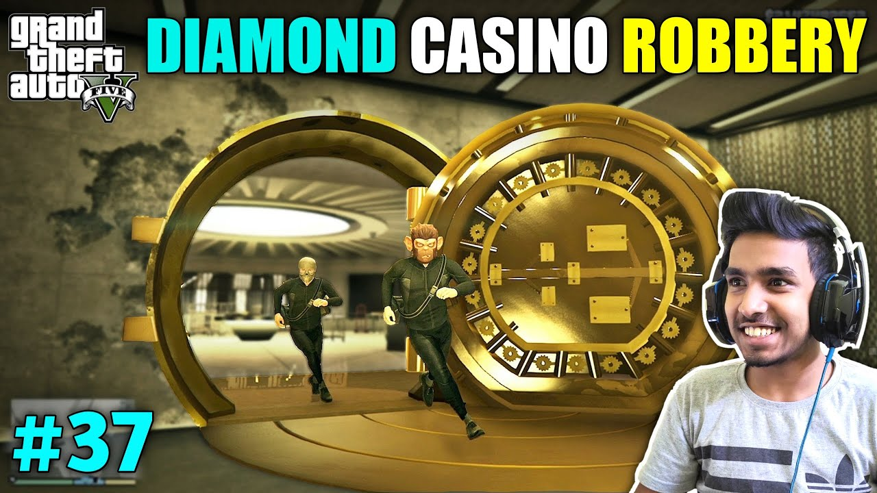 Download THE DIAMOND CASINO HEIST WITH TREVOR | GTA V GAMEPLAY #37