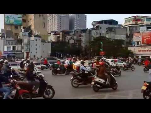 wheels on the bus: hanoi, the capital of vietnam