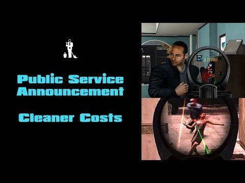 Payday 2 - PSA: Cleaner Costs