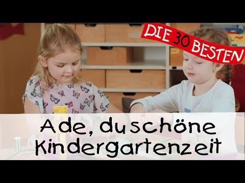 Ade du schöne Kindergartenzeit - Singen, Tanzen und Bewegen || Kinderlieder