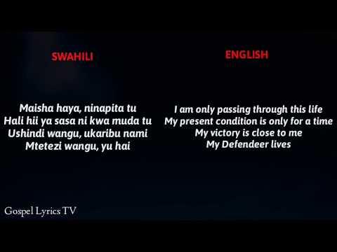 joel-lwaga---sitabaki-nilivyo-||-swahili-to-english-(video-lyrics)