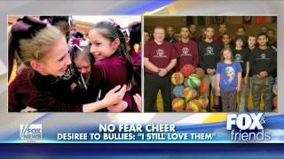 Video Basketball team protects disabled cheerleader from bullies download MP3, 3GP, MP4, WEBM, AVI, FLV Agustus 2018
