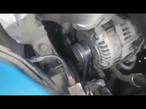 Натяжка ремня генератора мазда премаси
