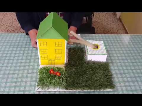 çöp Toplayan Ev Buluş Teknoloji Ve Tasarım Dersi Yapım Kuşağı