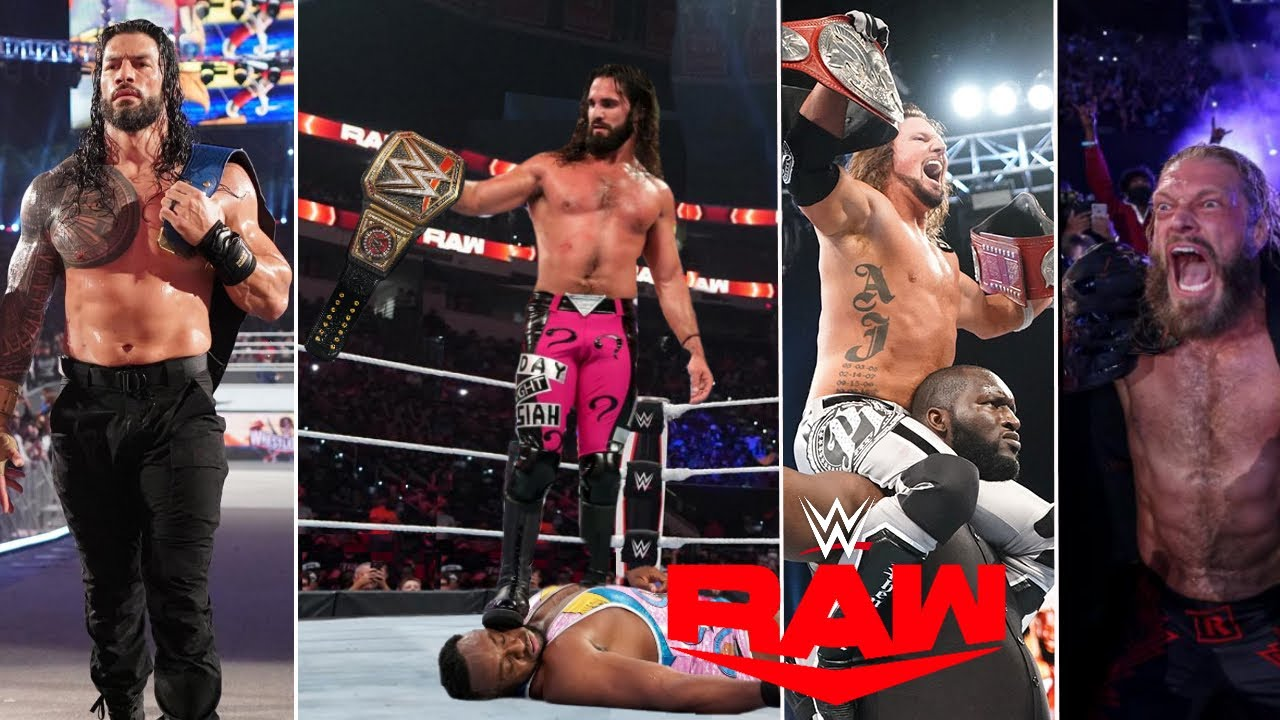 WWE Monday Night Raw 25th October 2021 Highlights Results - Without Brock Lesnar, No Roman Reigns