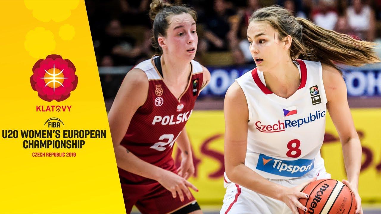 Czech Republic v Poland - Full Game - FIBA U20 Women's European Championship 2019