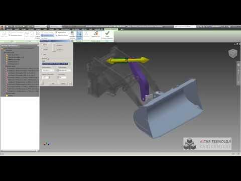 135 Autodesk Inventor Professional   Dinamik Simülasyon 3
