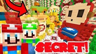 Mario Minecraft - What Is Inside The SECRET Door?! [7]