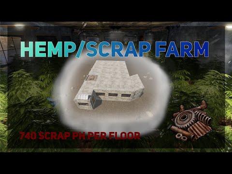 Rust | The complete Hemp/Scrap Farm (updated)