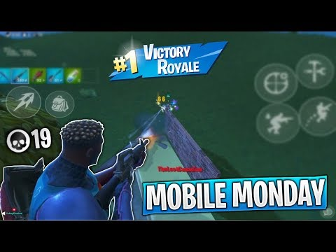 Dropping 19 Kills in my First Fortnite Mobile Tournament! (Mobile Monday Fortnite Tournament)