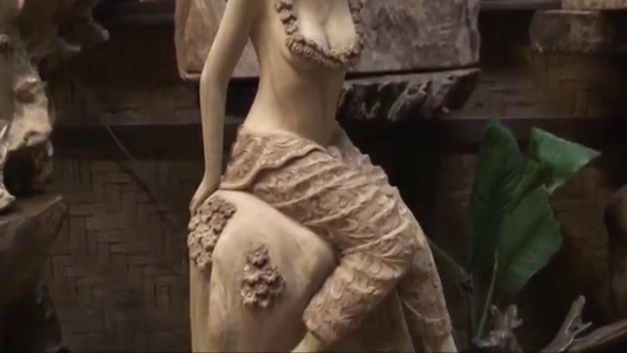 Wood carving arts sale woodcarvings sculpture teak statue hidef