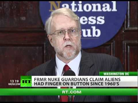 Owned by Aliens? US missile guards claim UFOs target global nukes