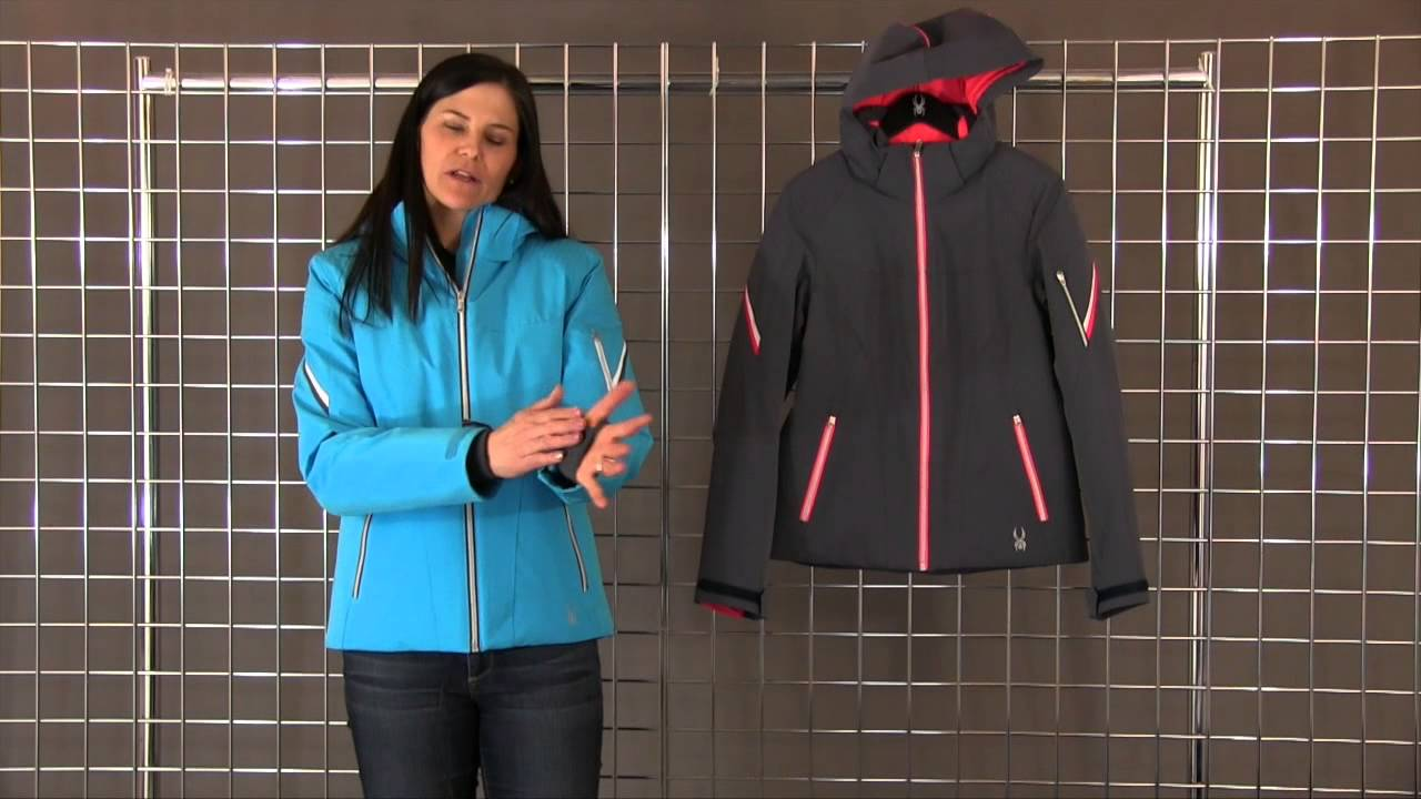 2a6e27408 Spyder Women's Project Tailored Fit Jacket 2015-2016 - YouTube