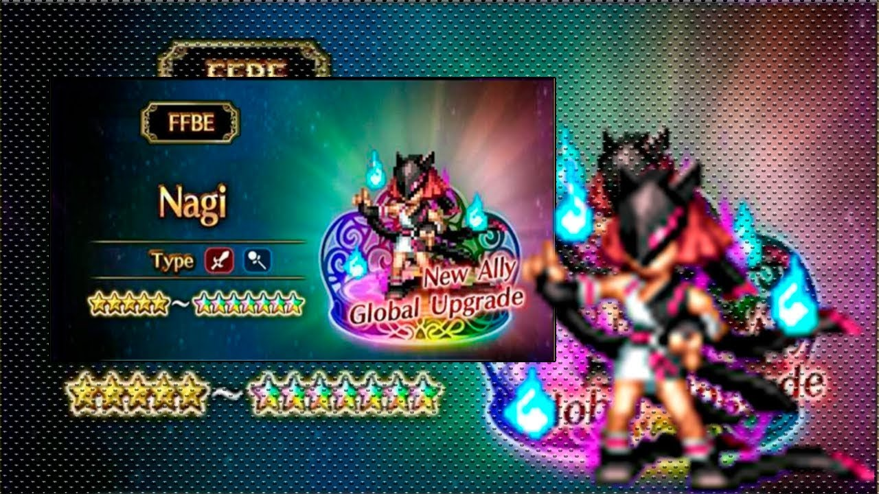 Final Fantasy Brvae Exvius - Featured Summon - Nagi of the Iota Star