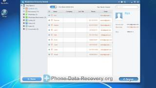 How to Recover Deleted Contacts on Sony Xperia J, Retrieve Lost Xperia J Contacts Easily?