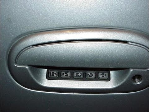 2007 Ford Taurus Keyless Entry Code How To Find Factory Code Youtube