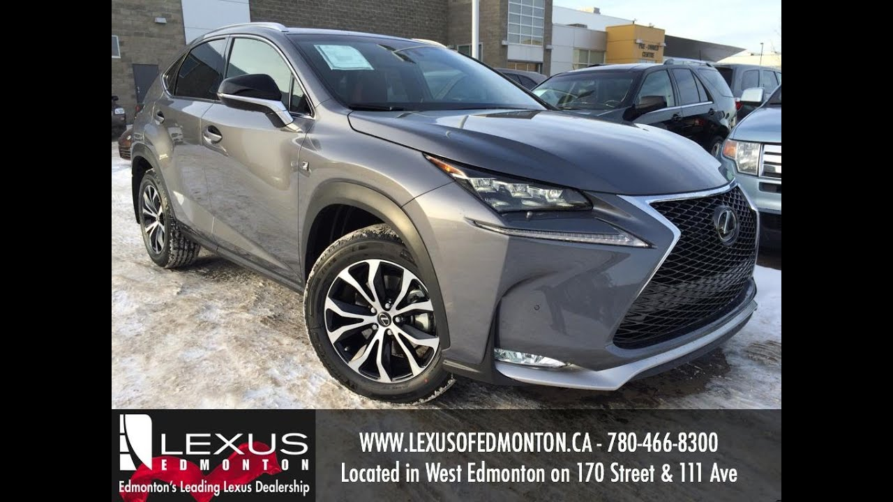 2016 Lexus Nx 200t Awd F Sport Review