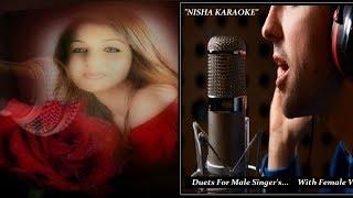 NISHA KARAOKE-Gunguna Rahe Hai Bhanwar-With Female Vocal