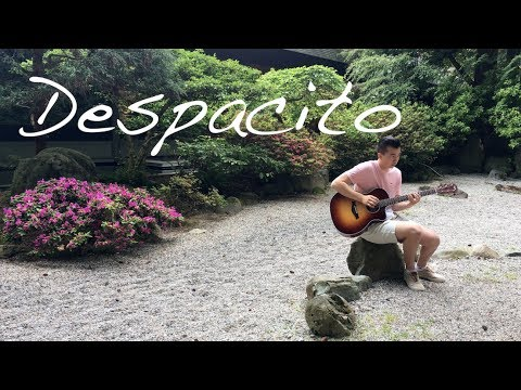 Despacito - Luis Fonsi ft. Justin Bieber in 4K (Fingerstyle Guitar Cover)