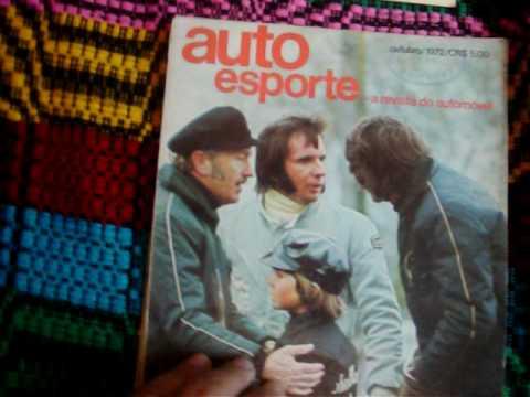 Guilherme Jabur mostra o LP MUSICAS E MAQUINAS ENVENENADAS e resumo campeonato formula 1 1972