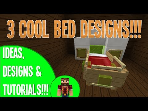 Three Cool BED Designs! - Build an Awesome Bedroom!