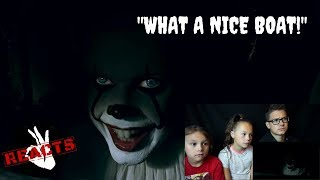 NEW IT (2017) - ' WHAT A NICE BOAT ' EXTENDED SCENES Reaction!!!