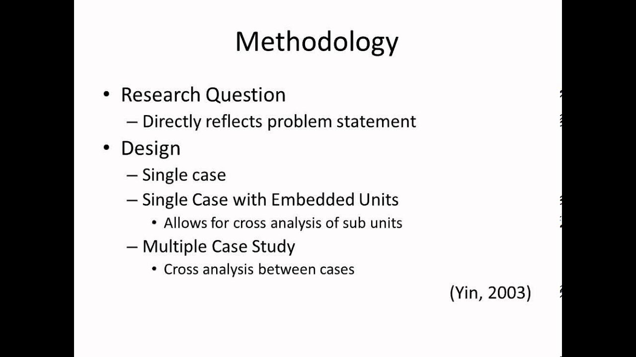 Case Study Quantitative Research