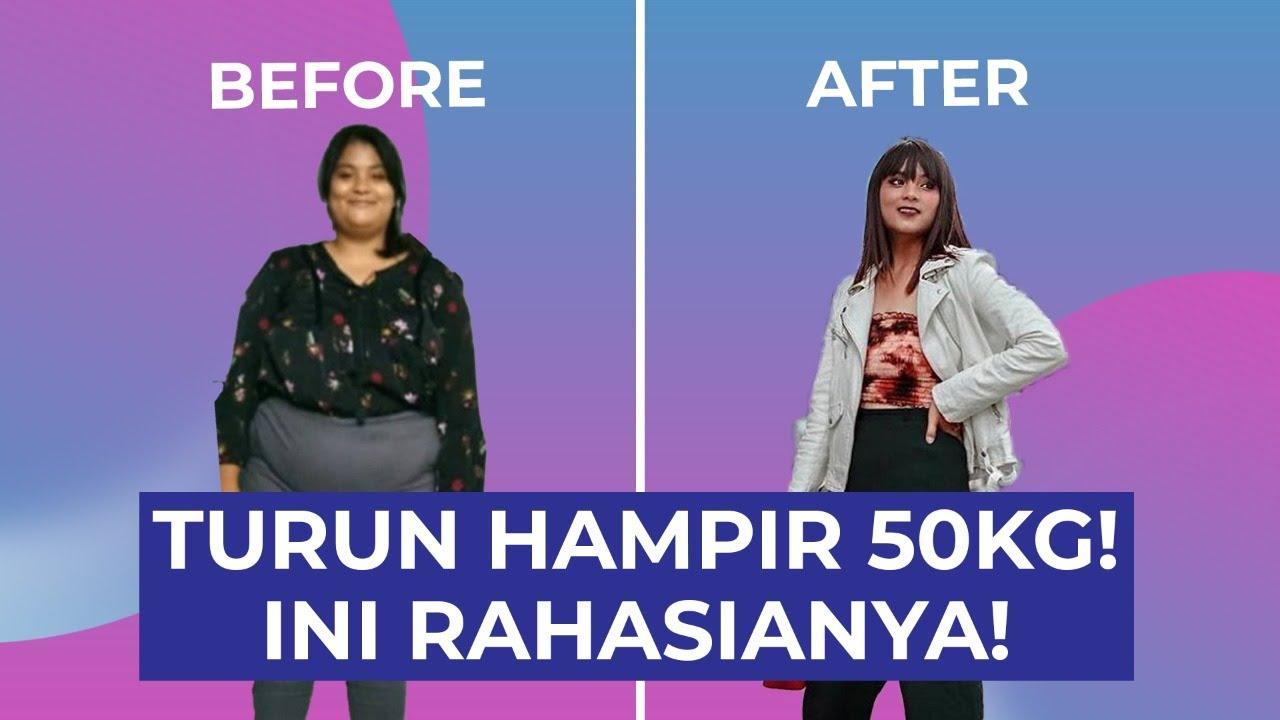 Viral! Wanita ini Berhasil Menurunkan Berat Badan Hampir 50KG Ini Rahasianya!
