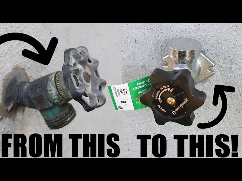 How To Replace An Outdoor Faucet With A Frost-Proof Sillcock | GOT2LEARN