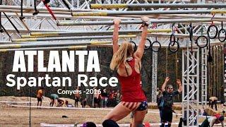 ATLANTA SPARTAN RACE - Conyers, GA 2016