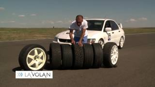 Vali Porcisteanu - Tyre Test - Slick - Summer - Winter - Digi24 - LaVolan