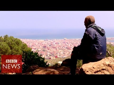 Spain Melilla migrants living on the edge of Europe - BBC News