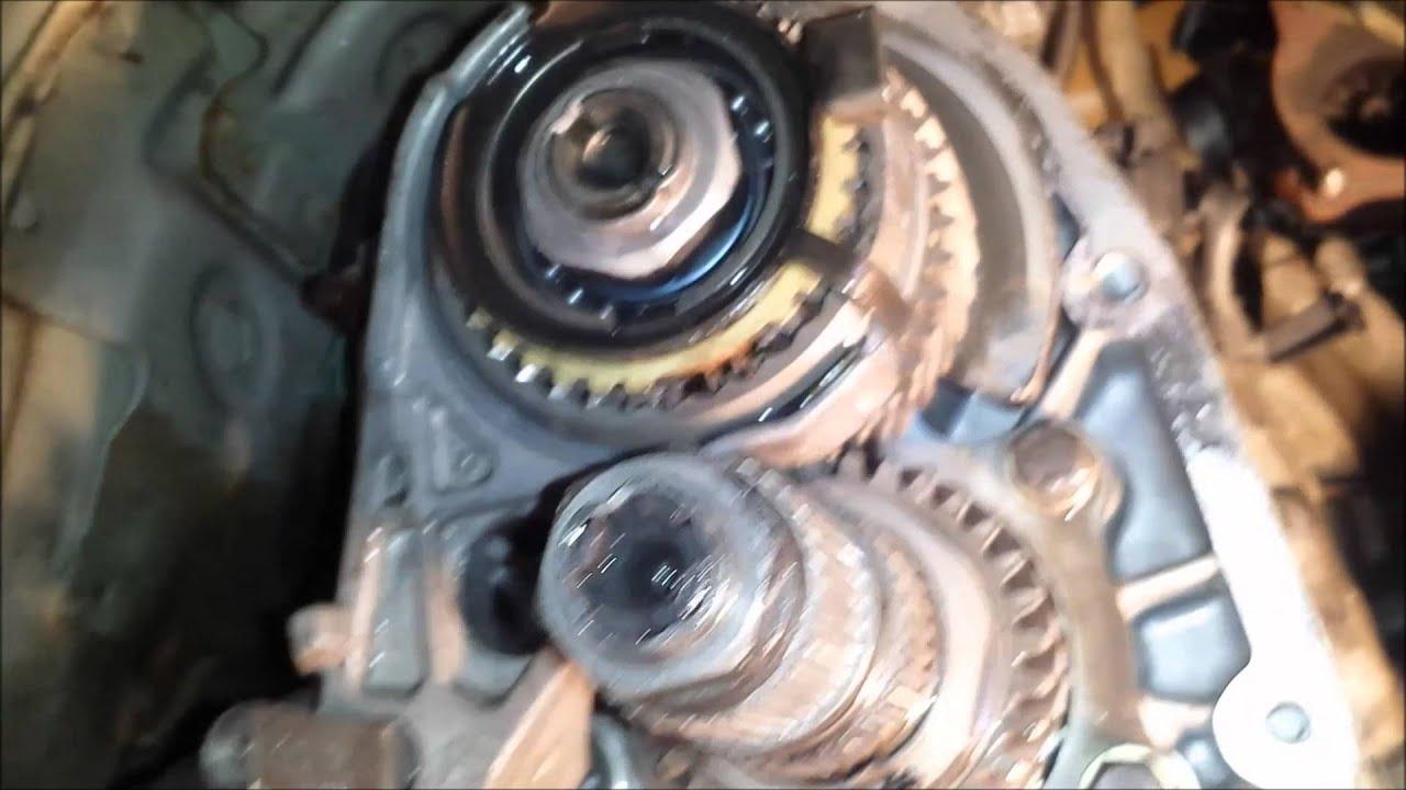manual transmission stuck in 1st gear