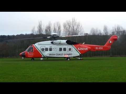 Sikorsky S-92 | Starting Up | Irish Coast Guard