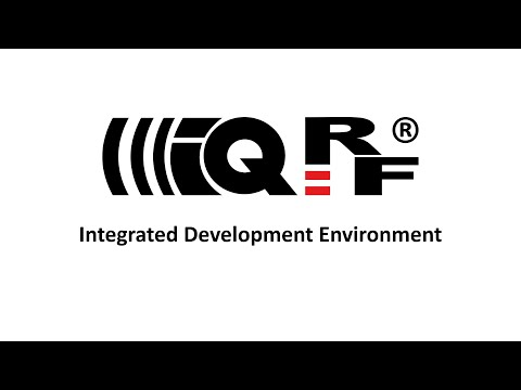 3. IQRF Integrated Development Environment