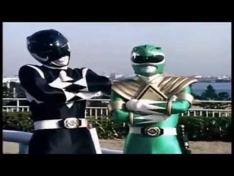 Power Rangers greek parody ALBANIA in action