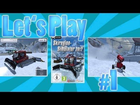 Let's Play SKI REGION SIMULATOR #1