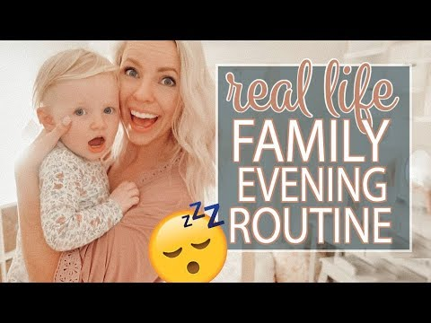 *NEW* FAMILY NIGHTTIME ROUTINE 2018 / Evening Routine of a Stay At Home Mom