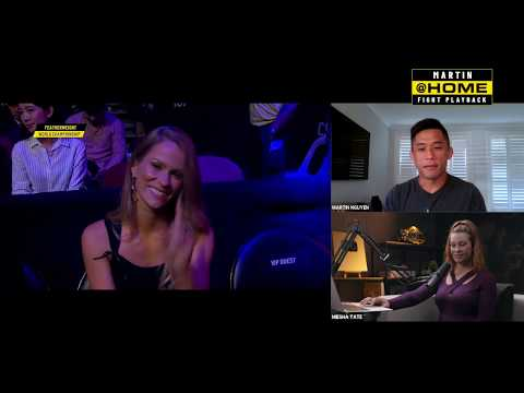 Martin Nguyen & Miesha Tate | ONE@Home Fight Playback