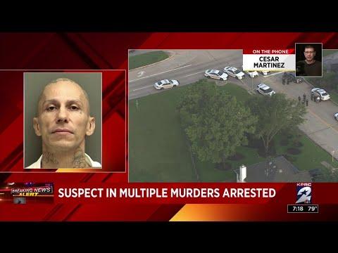 KPRC2 photographer witnesses chase, capture of murder suspect Jose Rodriguez