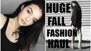 HUGE FALL FASHION HAUL! | Lulus, Brandy melville, EGO shoes